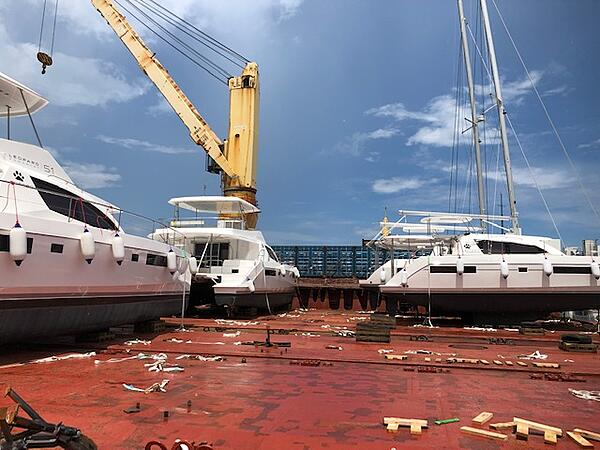 Leopard Catamarans - Herstellung